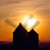 Väderkvarnar, Spanien