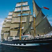 Kruzenshtern, four-masted bark