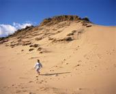 Pojke i sanddyn, Danmark