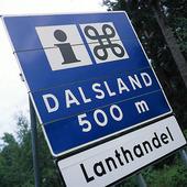 Skylt Dalsland