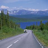 Landsväg, Lappland