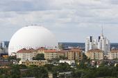 Globen och Hovet arena i Stockholm