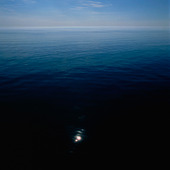 Solreflex i havet
