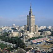 Kulturpalatset i Warszawa, Polen