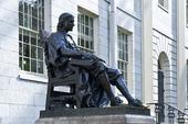 John Harvard staty, Cambridge
