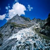 Grindelwald glaciär, Schweiz