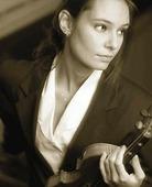 Kvinna med fiol
