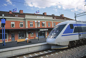 Tågstation i Eskilstuna, Södermanland
