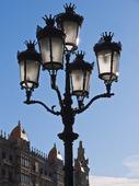 Lampposts. Passeig de Gracia.Barcelona. Spain