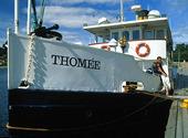 Ångbåten Thomée i Östersund, Jämtla