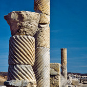 Romerska ruinerna i Segobriga, Spanien