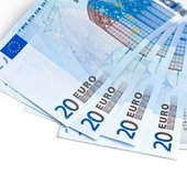 Euro sedlar