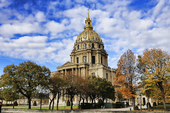 Dome des Invalides i Paris, Frankrike