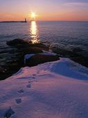 Vinter vid Hönö Klåva, Bohuslän