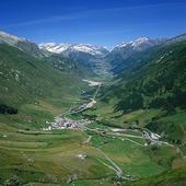 Landskapsvy, Schweiz