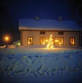 Julgran på landet