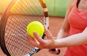 Kvinnlig tennisspelare