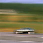 Bil på väg