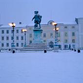 Vinter Gustav II Adolfs Torg, Göteborg