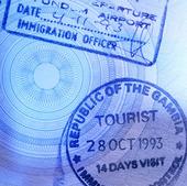 Stämplar i pass
