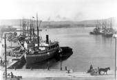 Lilla Bommens hamn i Göteborg, 1903