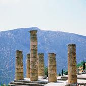 Ruiner i Delfi, Grekland