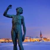 Stockholm City, vinter