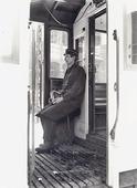 Spårvagnskonduktör, Göteborg 1920-talet