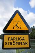 Varning för farliga stömmar