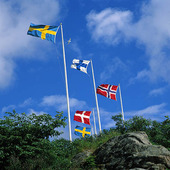Skandinaviska flaggor