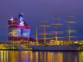SkanskaSkrapan vid Barken Viking, Göteborg