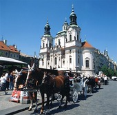 Gamla stans torg i Prag, Tjeckien