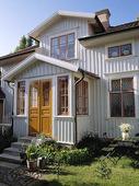 Villa med veranda