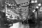 Julstämning på Kungsgatan 30-talet, Göteborg