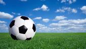 Klassisk fotboll på gräs