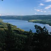 Vy över Övre Fryken, Värmland
