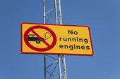 Förbud mot tomgångskörning