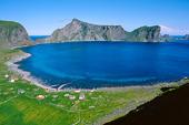Vy från Lofoten, Norge