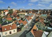 Vy över Visby, Gotland