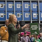 Annie Lööf, Centerpartiet, 2018