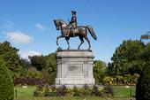 George Washington staty i Boston Common, USA