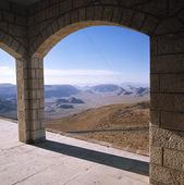 Ruin i Petra, Jordanien