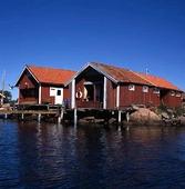 Sjöbodar i Hunnebostrand, Bohuslän