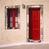 Fönster och dörr, Grekland