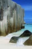 Granitklippor, Seychellerna