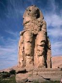 Memnonstoderna vid Luxor, Egypten