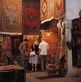 Matthandel i Damaskus, Syrien