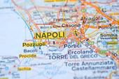 Karta över Neapel