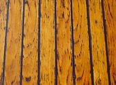 Däcksyta på träbåt