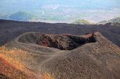 Aktiva vulkanen Etna på Sicilien, Italien